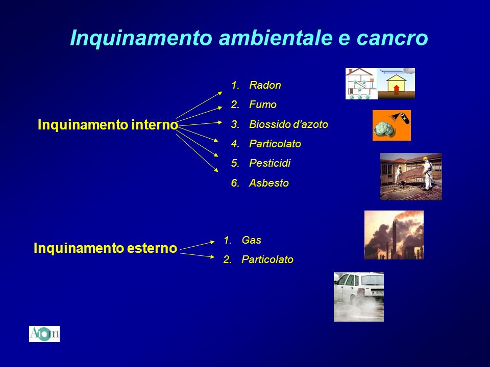 Inquinamento ambientale e cancro