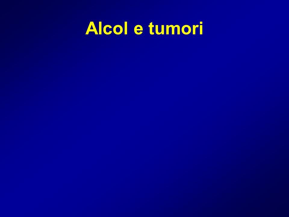 Alcol e tumori
