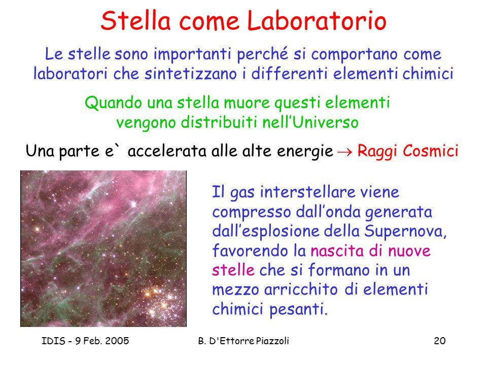 Stella come Laboratorio