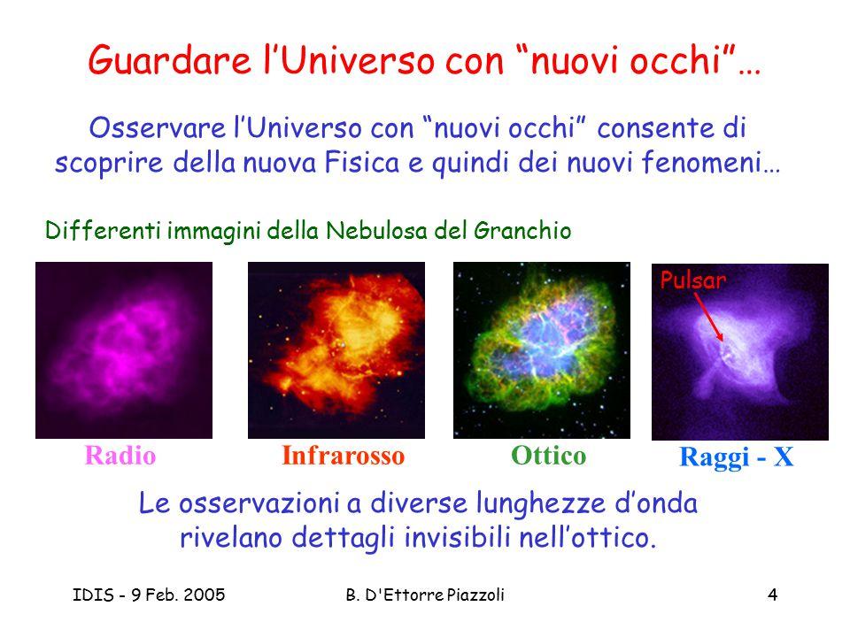 Guardare l'Universo con nuovi occhi …