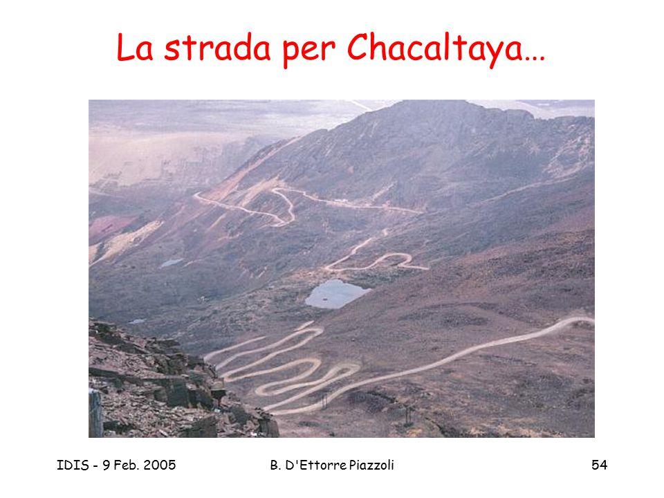 La strada per Chacaltaya…