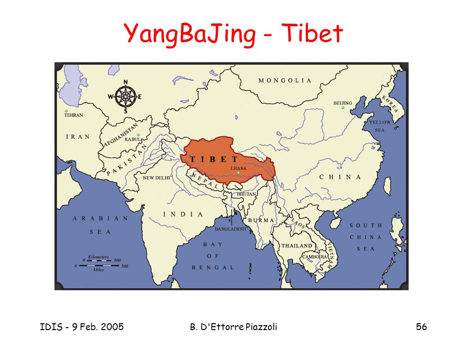 YangBaJing - Tibet IDIS - 9 Feb. 2005 B. D Ettorre Piazzoli