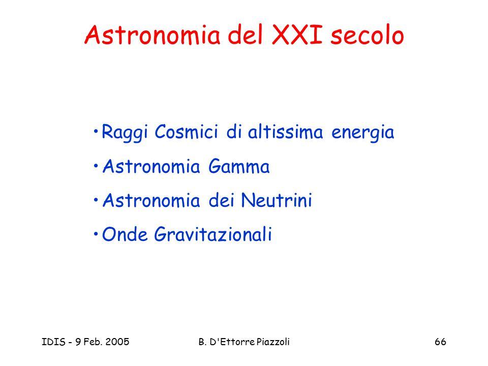Astronomia del XXI secolo