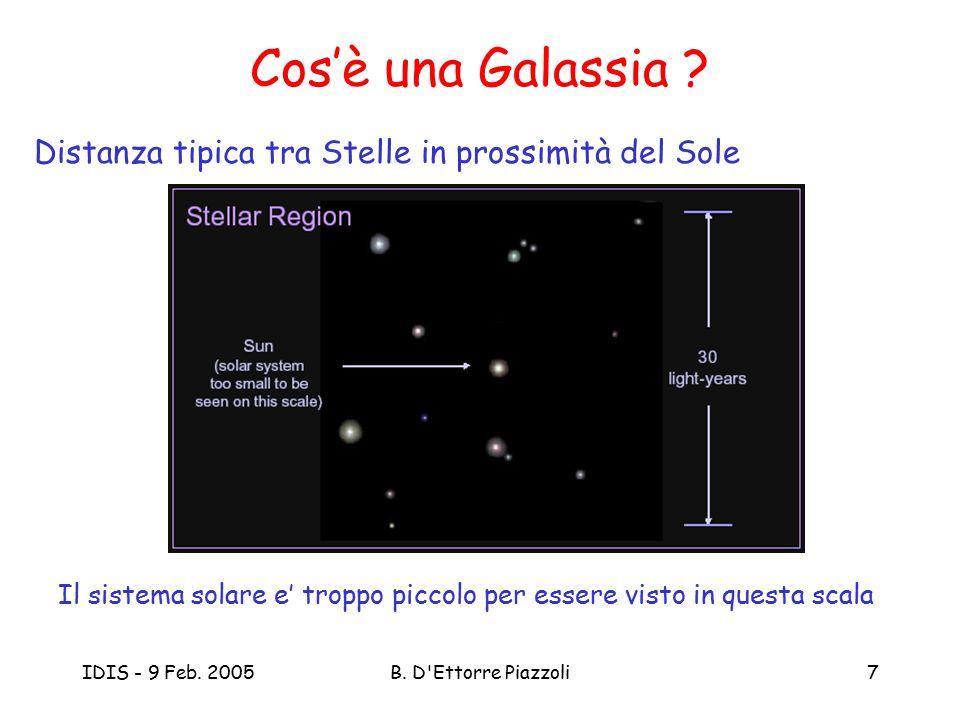 Cos'è una Galassia Distanza tipica tra Stelle in prossimità del Sole