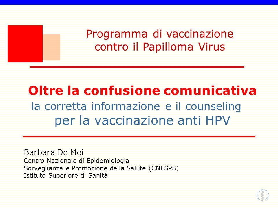 Programma di vaccinazione