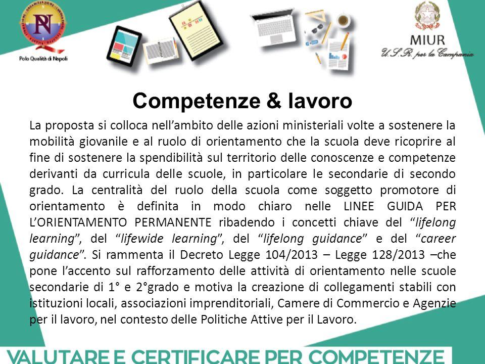 Competenze & lavoro