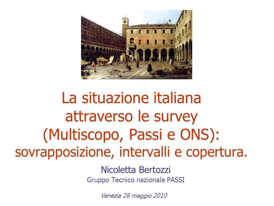 Nicoletta Bertozzi Gruppo Tecnico nazionale PASSI