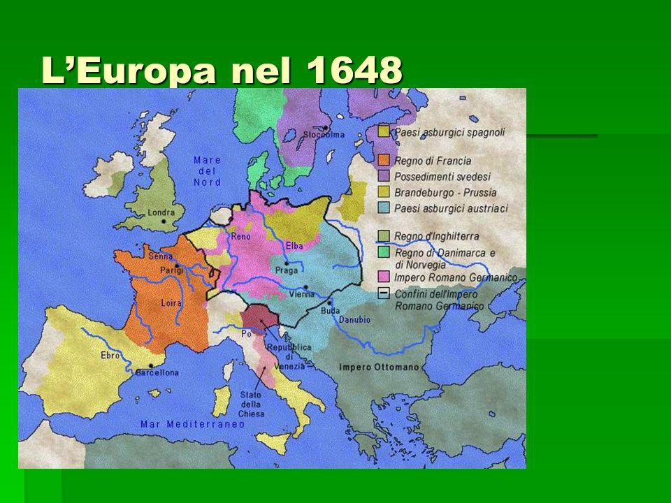 L'Europa nel 1648