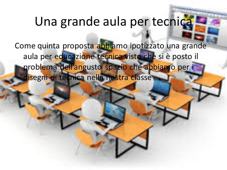 Una grande aula per tecnica