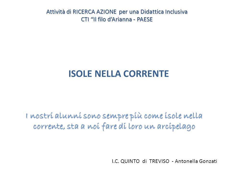Attività di RICERCA AZIONE per una Didattica Inclusiva