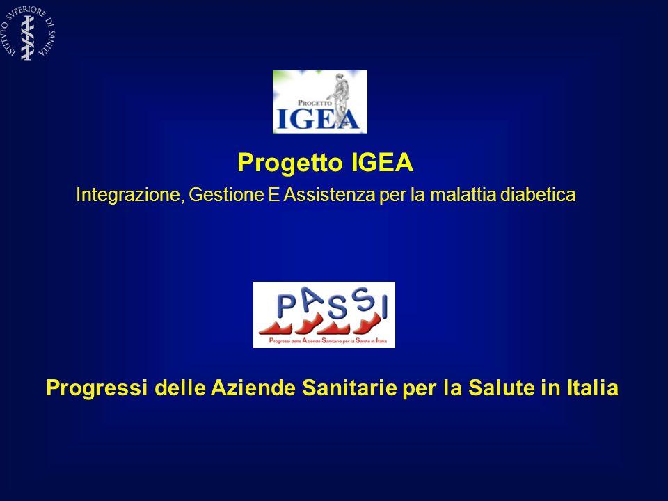 Progressi delle Aziende Sanitarie per la Salute in Italia