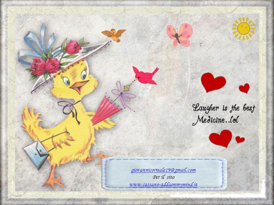 giovannicorreale19@gmail.com Per il sito www.cassano-addaonmymind.it