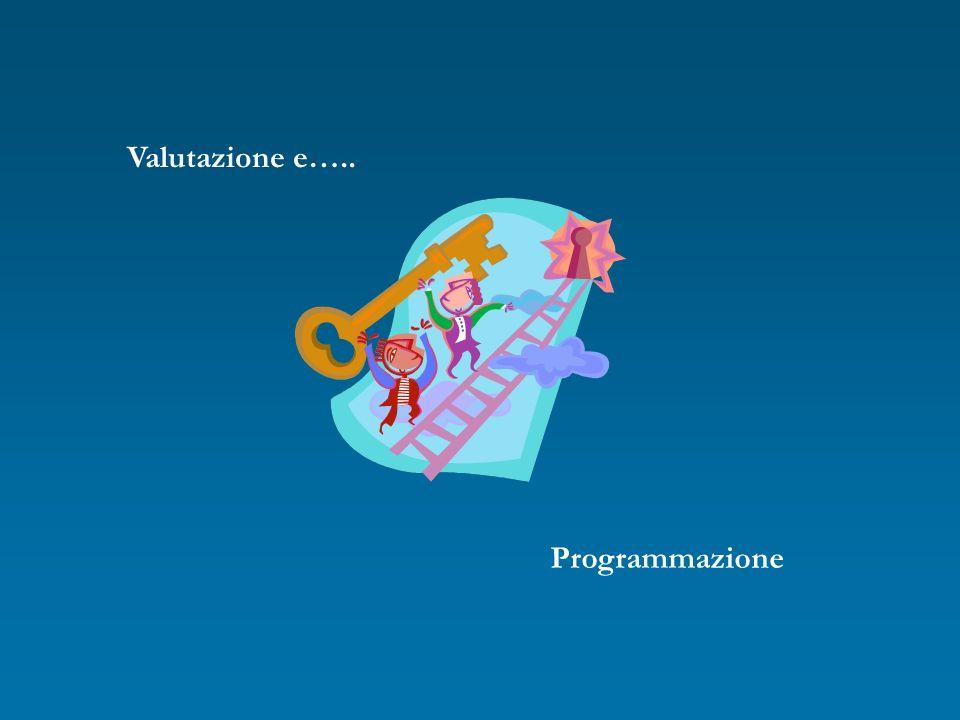 Valutazione e….. Programmazione