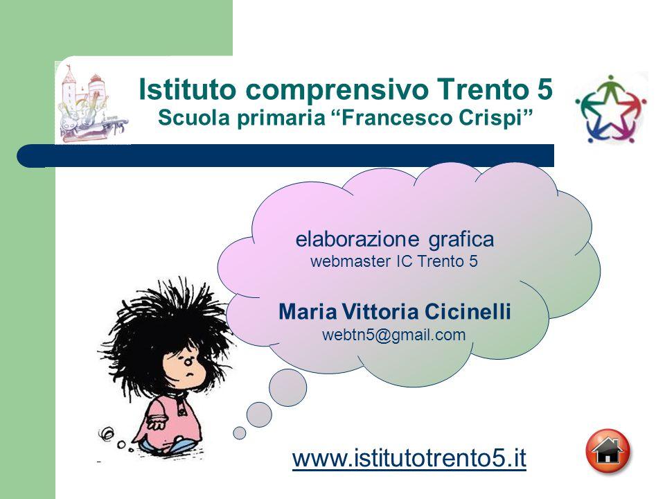 Istituto comprensivo Trento 5 Scuola primaria Francesco Crispi