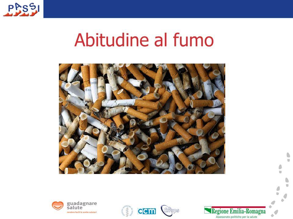 Abitudine al fumo