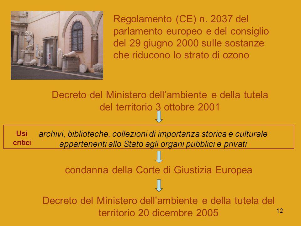 condanna della Corte di Giustizia Europea