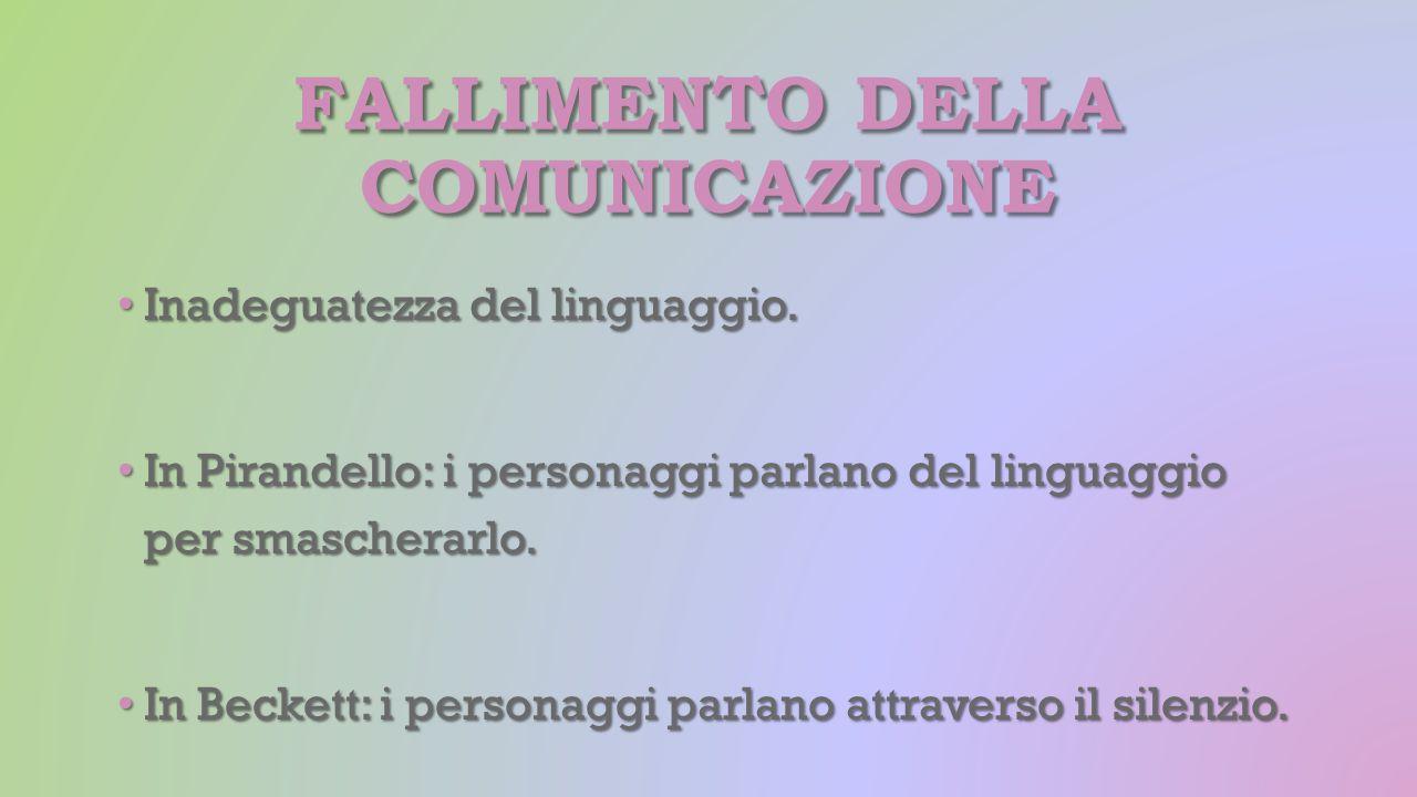 Fallimento della comunicazione