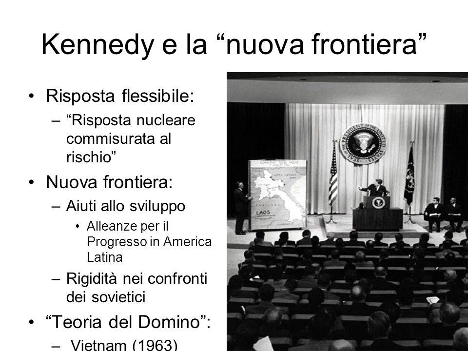Kennedy e la nuova frontiera