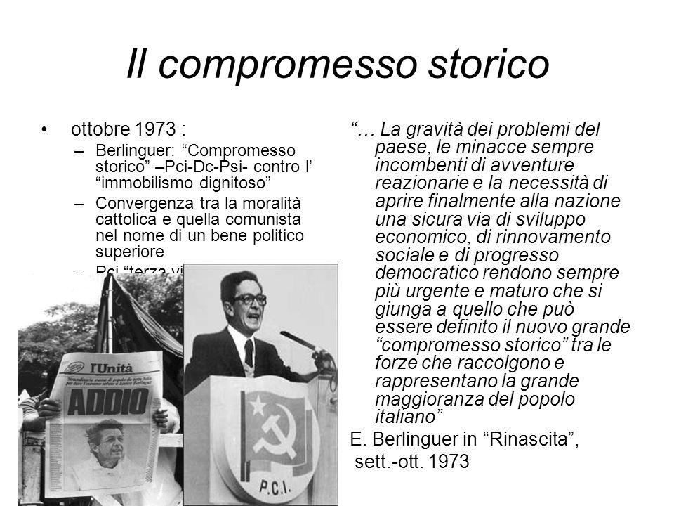 Il compromesso storico
