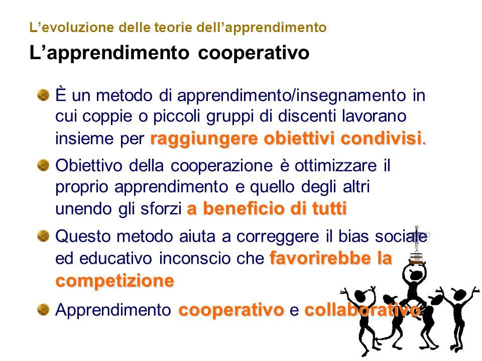 Apprendimento cooperativo e collaborativo