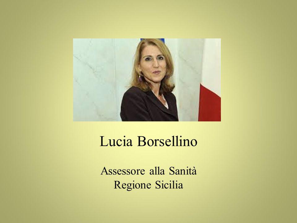 Lucia Borsellino Assessore alla Sanità Regione Sicilia 17