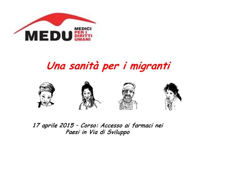Una sanità per i migranti