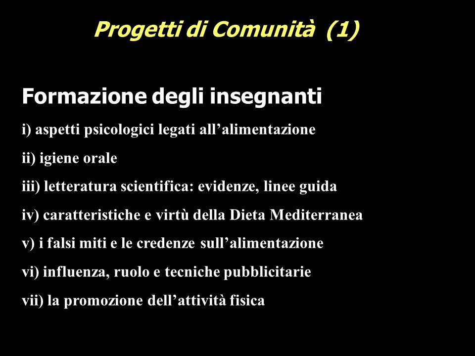 Progetti di Comunità (1)