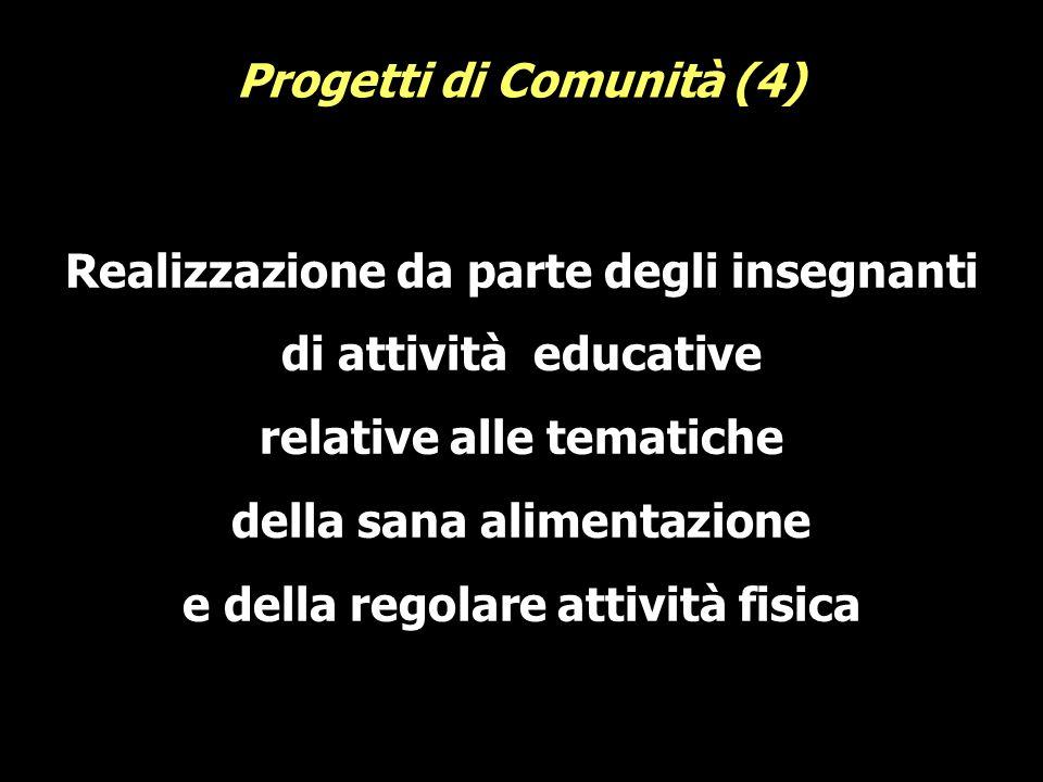 Progetti di Comunità (4)