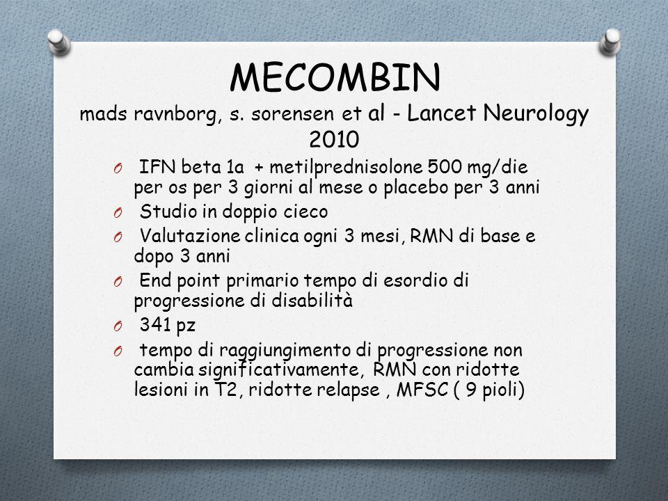 MECOMBIN mads ravnborg, s. sorensen et al - Lancet Neurology 2010