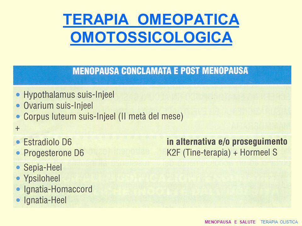 TERAPIA OMEOPATICA OMOTOSSICOLOGICA