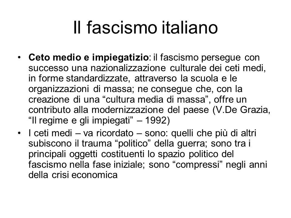 Il fascismo italiano