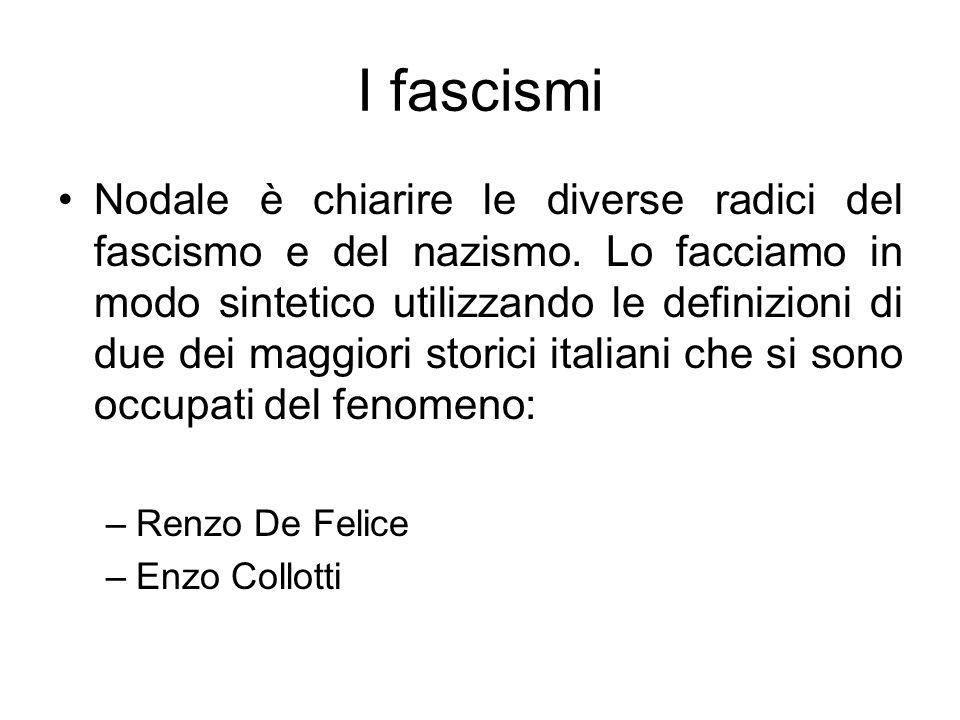 I fascismi