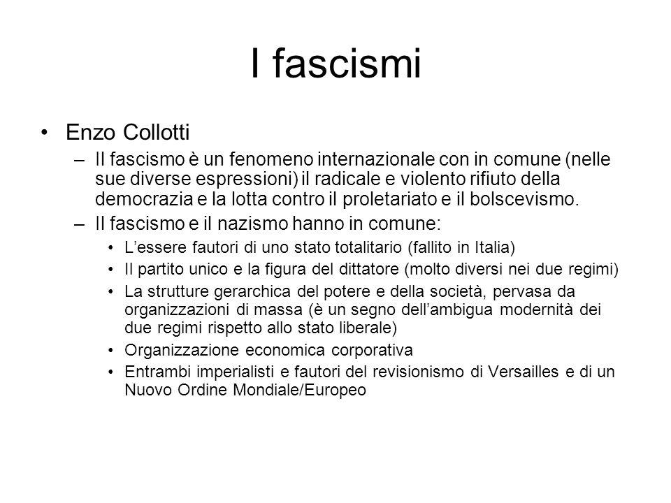I fascismi Enzo Collotti