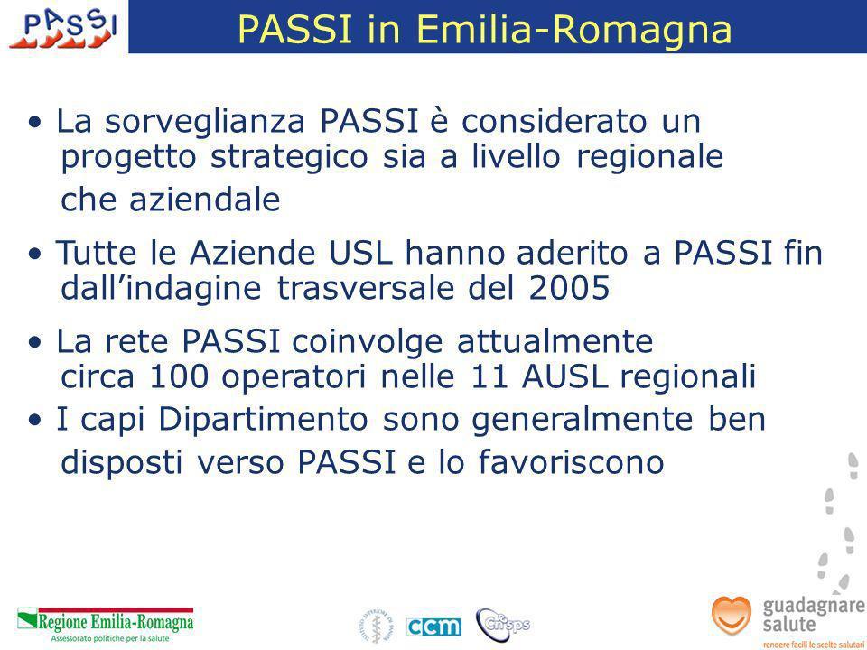 PASSI in Emilia-Romagna