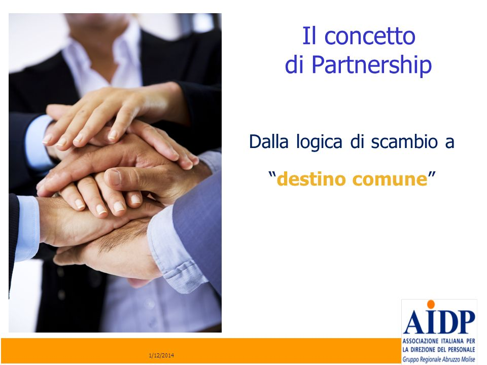 Il concetto di Partnership
