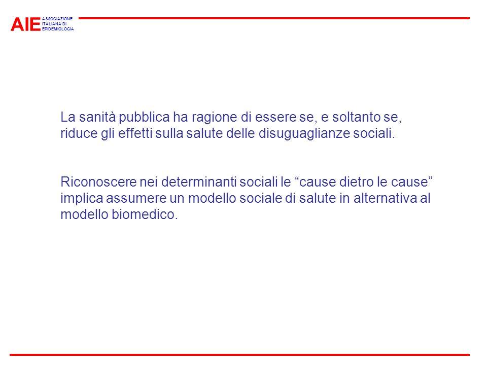 AIE ASSOCIAZIONE. ITALIANA DI. EPIDEMIOLOGIA.