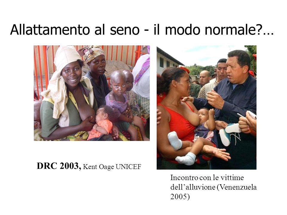 Allattamento al seno - il modo normale … DRC 2003,