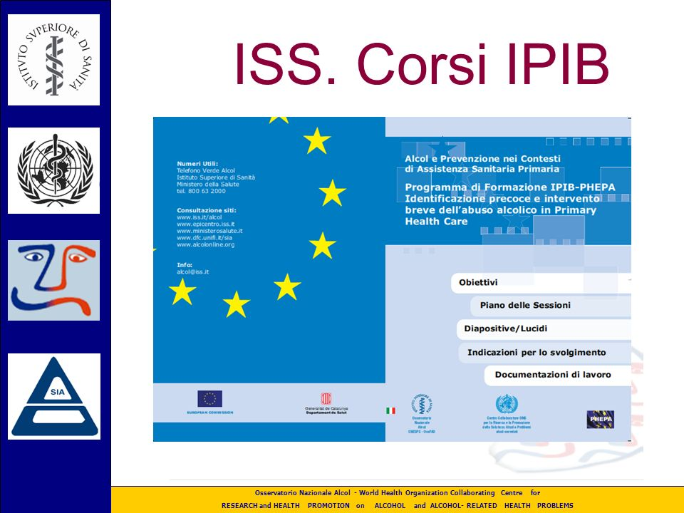 ISS. Corsi IPIB 48