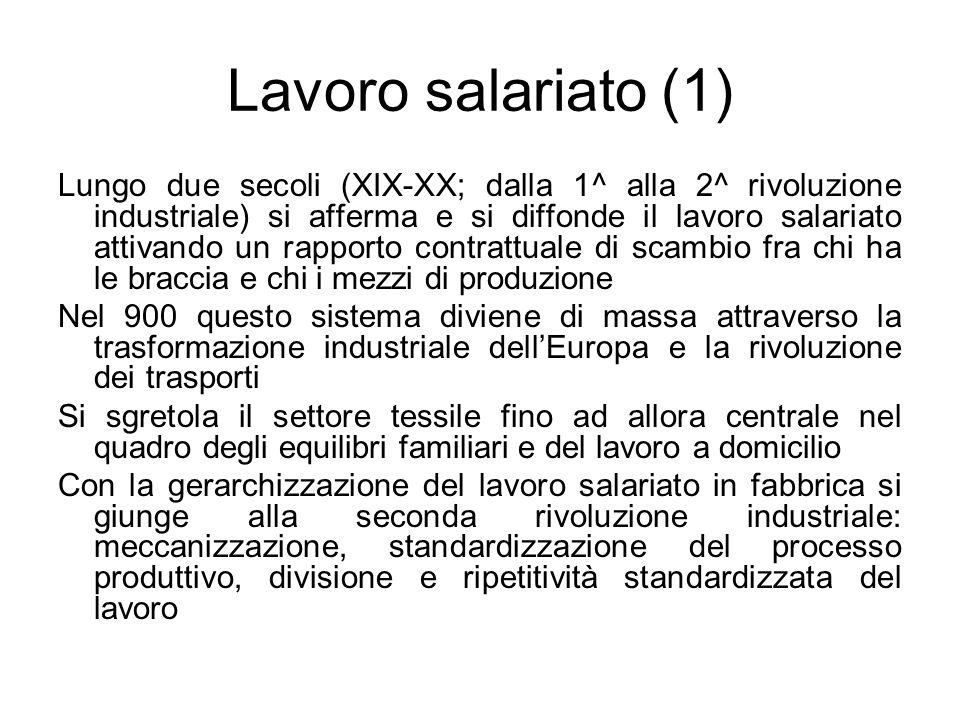Lavoro salariato (1)