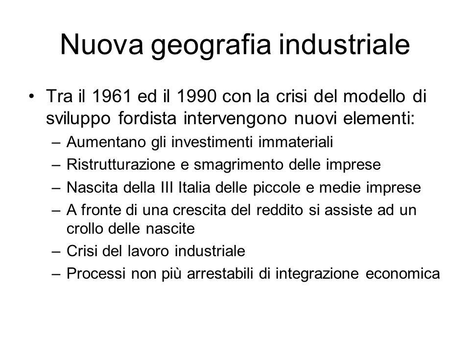 Nuova geografia industriale