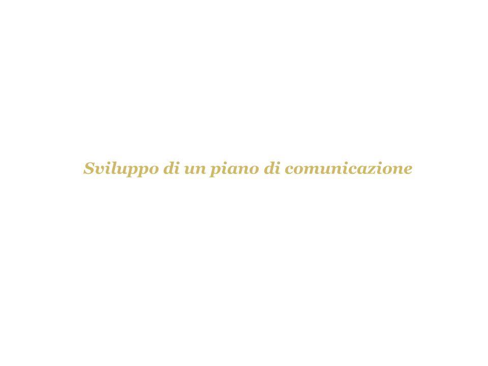 Sviluppo di un piano di comunicazione
