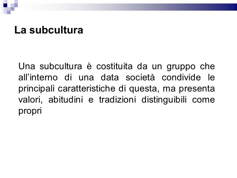La subcultura
