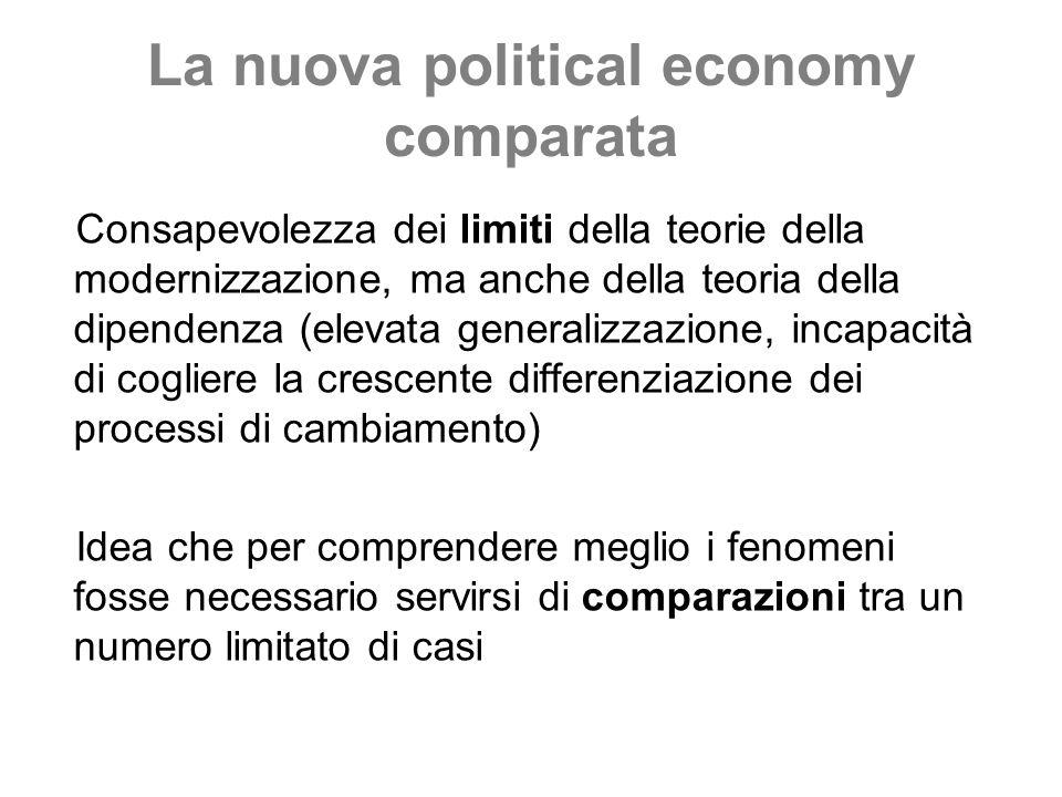 La nuova political economy comparata