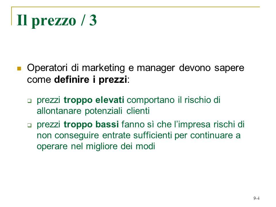 Il prezzo / 3 Operatori di marketing e manager devono sapere come definire i prezzi: