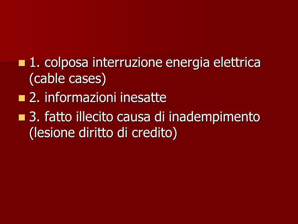 1. colposa interruzione energia elettrica (cable cases)