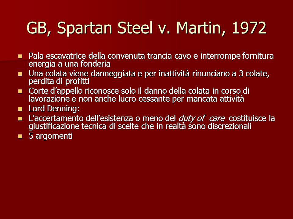 GB, Spartan Steel v. Martin, 1972