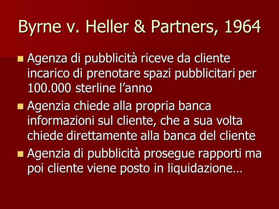 Byrne v. Heller & Partners, 1964