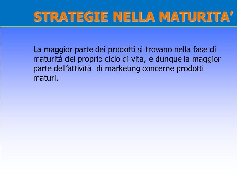 STRATEGIE NELLA MATURITA'