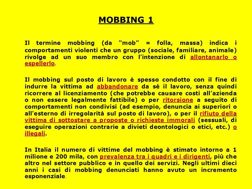 MOBBING 1