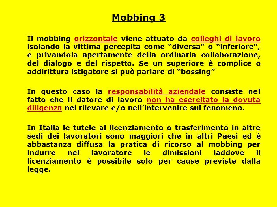 Mobbing 3
